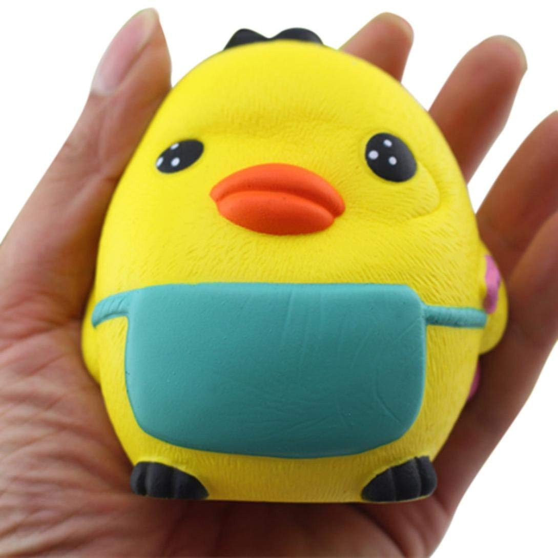callm Squishies Chick Slow Rising Jumbo Squishy Toys Kawaii Cute Scented Squishies Kids Party Squishy Stress Reliever Toy