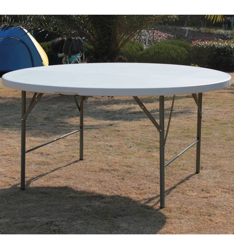 10person Cheap Round Pedestal Plastic Folding Dining Table