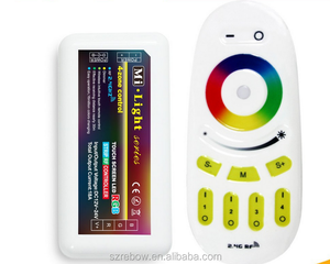 wifi lighting RGB Multi Zone Controllers RF Remote - 4-zone RGB LED Controller