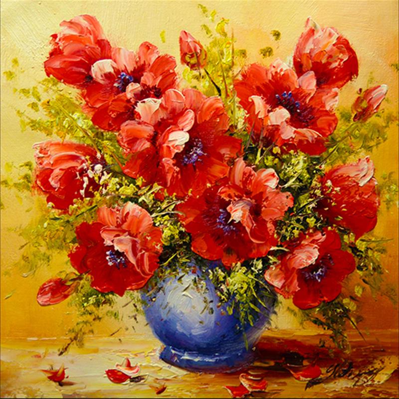 Diamond Art Painting Flowers