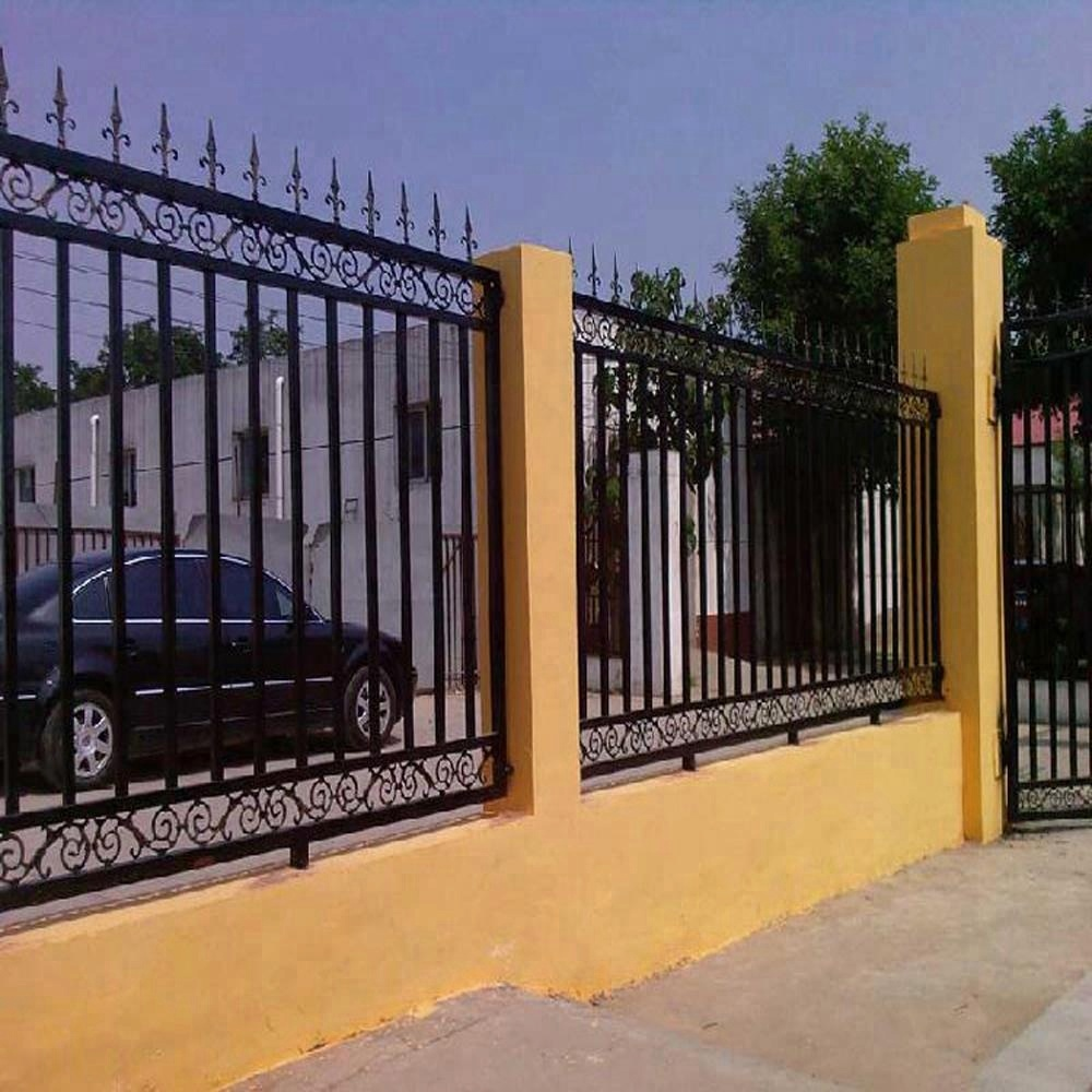 House Yard Iron Fencing Garden Metal Fence Panels With