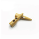 classic two hole natural colour sew wood toggle button for coat
