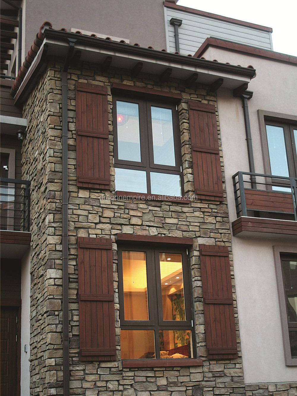 High Quality Artificial Stacked Stone, Exterior Stone Wall Cladding, Outdoor  Stone Veneer
