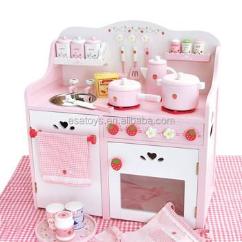 Wooden Kitchen Toy For Kids Strawberry