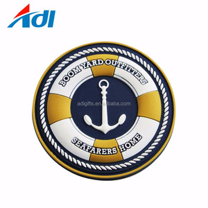 custom PVC badge/custom silicone label/clothing PVC rubber patch