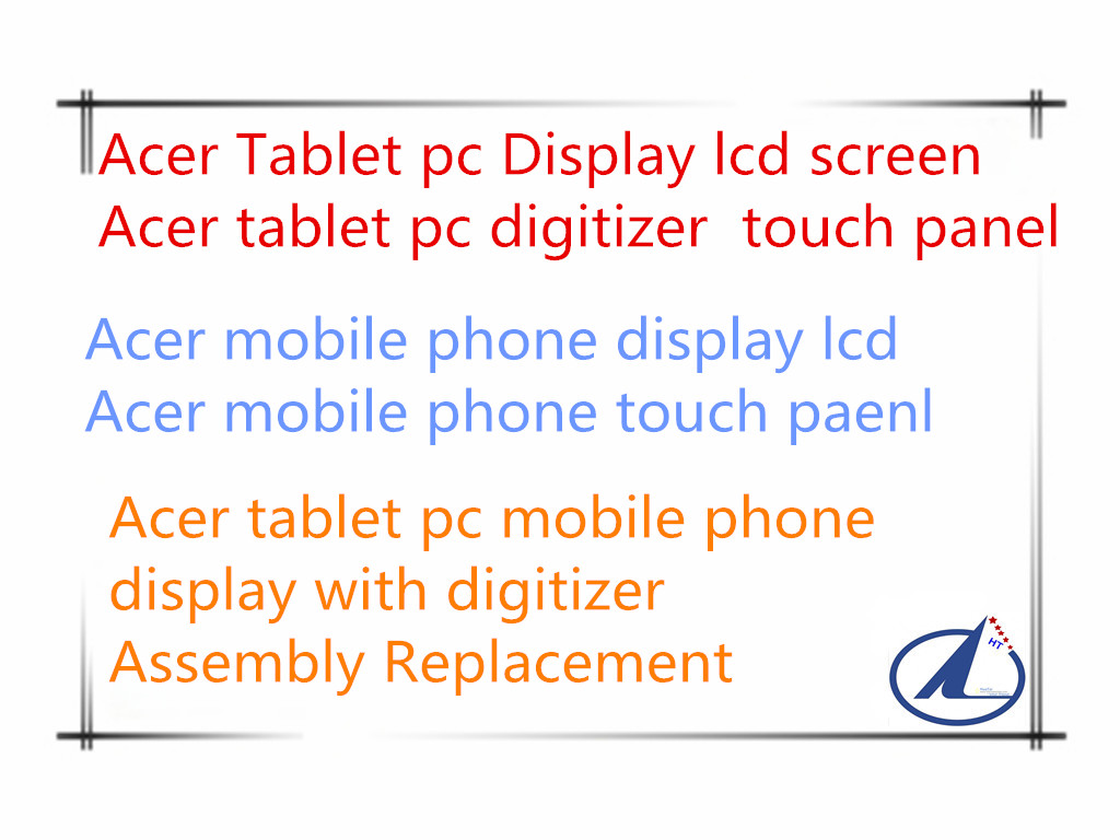 For Acer Liquid Z6 lcd with digitizer screen display