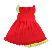 Buy Ruffle fancy dress competition for kids in China on Alibaba.com