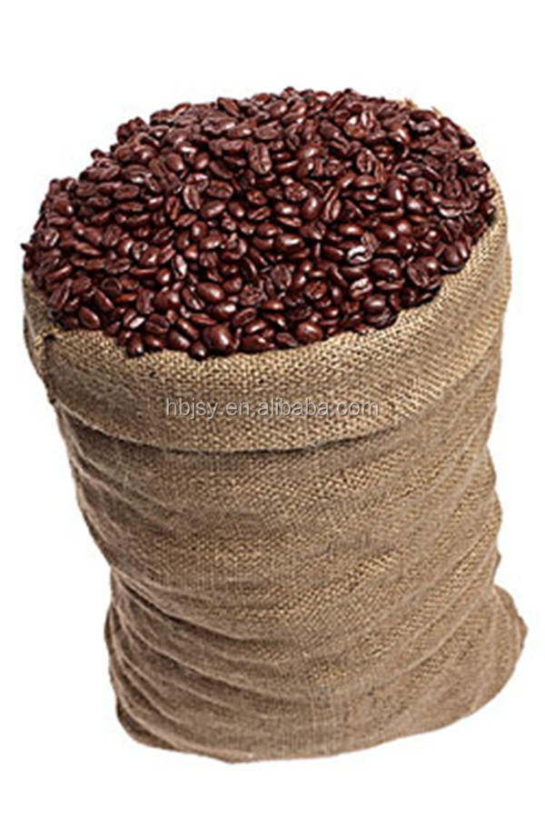 Drawstring gunny sacks coffee sacks and Biodegradable Featureburlap cocoa bags jute gunny bag/ burlap bags