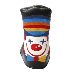 Promotional new design crown embroidery golf head cover