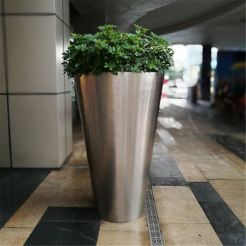 Stainless steel vase for decoration flower vase