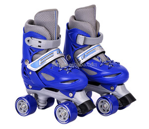 BIGBANG 2018 high quality blue kids quad roller skate four wheels skate land roller skate for sale