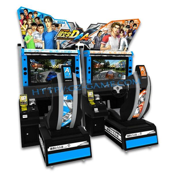 "32"" Inch Lcd Screen Adult Arcade Machines Initial D Arcade Machine ..."