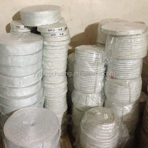 Industrial Oven Gasket Fiberglass Braided Square Rope
