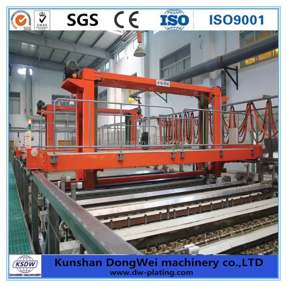 PCB Electroplating line automatic copper plating equipment