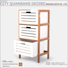 2017 china manufacturer three Drawer filling modern furniture wooden cheap balcony storage office wood bamboo file cabinet
