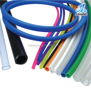 Heat Resistant Colored Durable Soft Transparent Inflatable Silicone Rubber Tube Tubing Hose