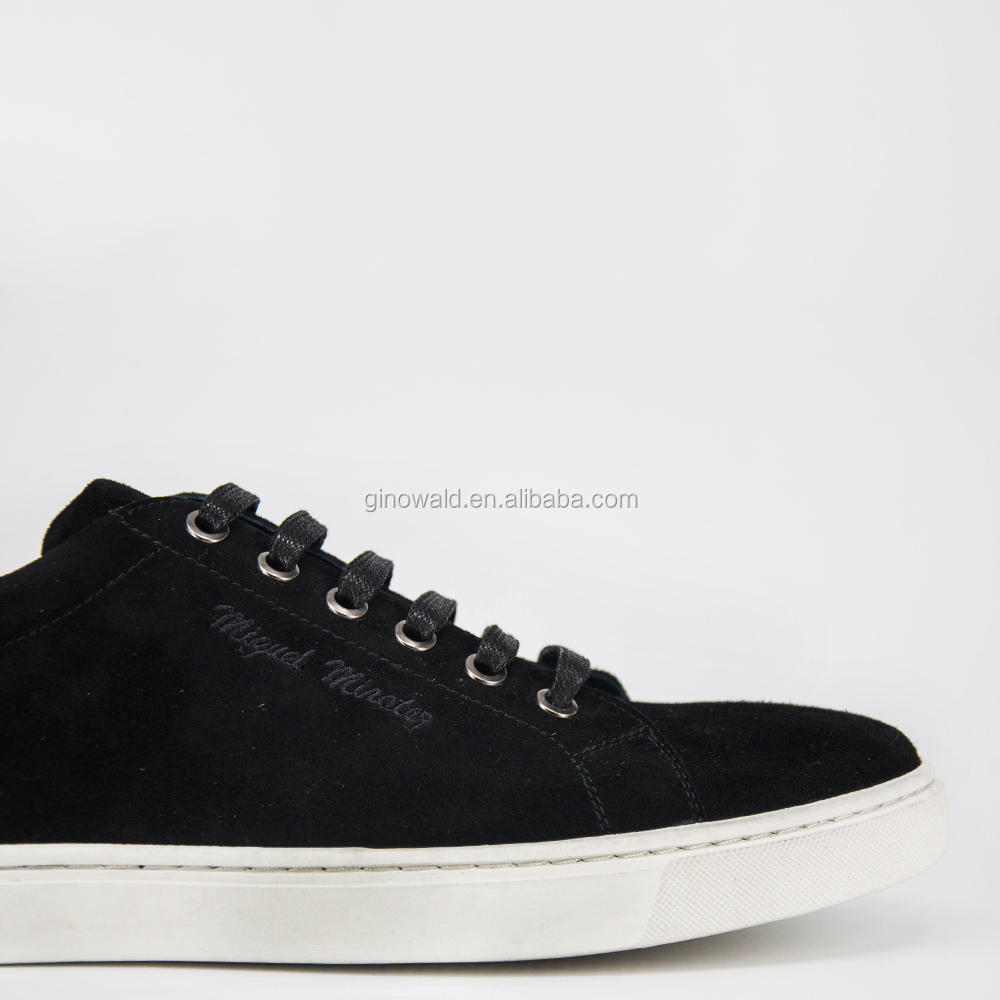 leather style Fashion genuine 2017 shoes canvas hotsale RUOa7146