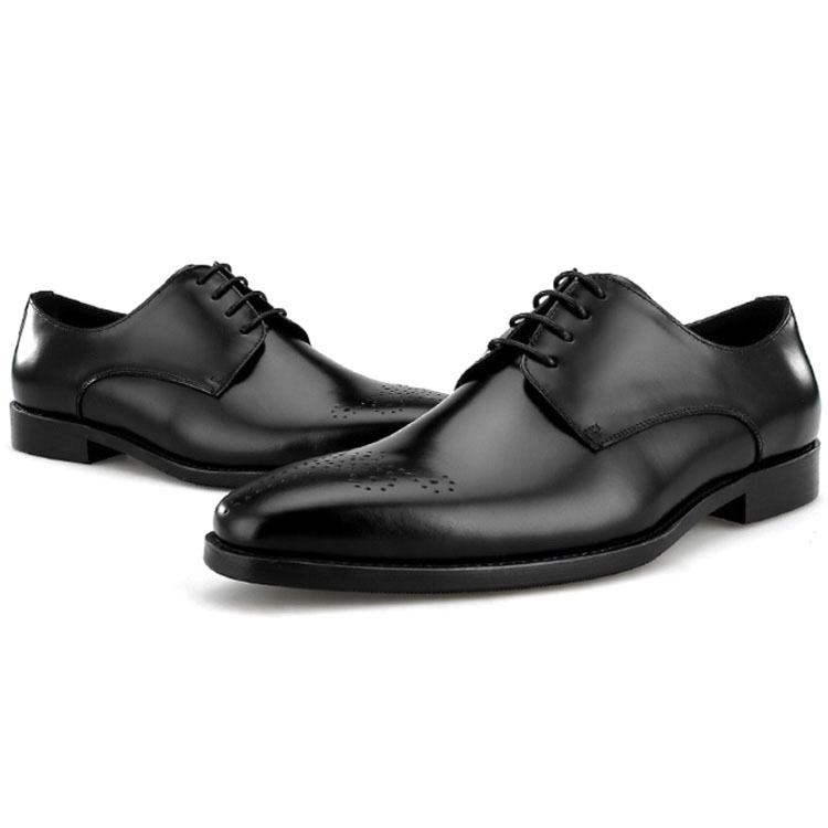 (High) 저 (quality 망 business 웨딩 fashion men black leather 슈 man dress shoes