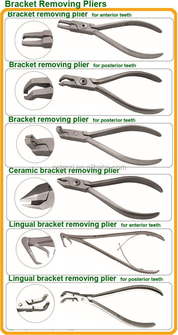 Dental Bracket Removing Pliers Orthodontic