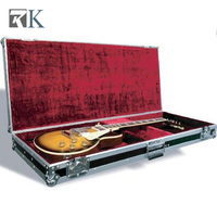 RK manufacturer guitar flight case for fender ball corners anchor for musical instrument collection