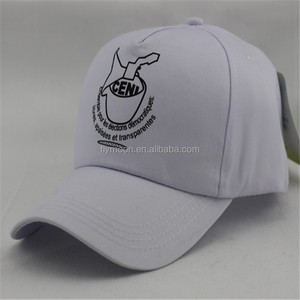 White Plain Custom Cheap Cap/ Hat