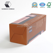 Shanghai Zhonggu customized, high-quality, direct factory supply thermal bottle packaging box, corrugated board, free samples