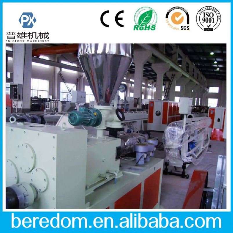 Haibin Pvc Fiber Reinforced Soft Hose Pipe Production Machine Line