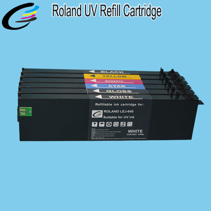 Roland VersaUV LEF 20 UV Printer Ink Cartridges Wholesale with Reset Chip
