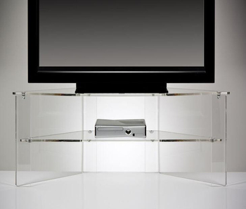 Clear Acrylic Tv Stand Plastic Screen