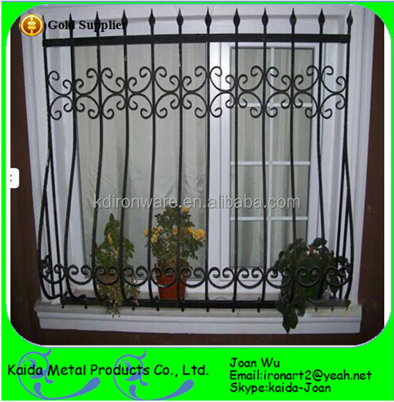 Wrought Iron Window Grill Guard Design Buy Decorative