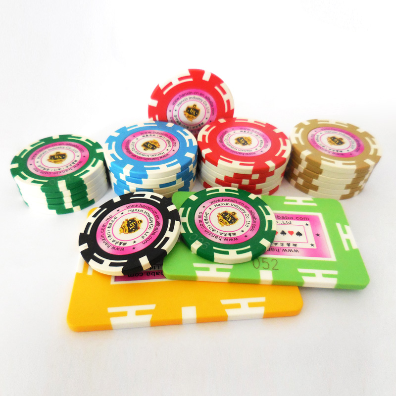 Goedkope custom 14g real clay poker chips gaming chips
