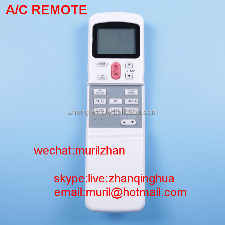 High Quality White 6+ Keys R11hg Air-conditioning Special Remote ...