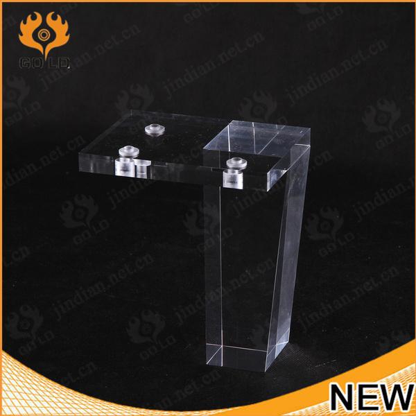 Luxury Clear Plexiglass Table Legs, Acrylic Table Legs, Clear Acrylic  Furniture Legs
