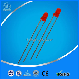 3mm round 620-630nm RED 0.06 w led diode