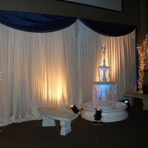 Wedding pipe and drape wedding backdrop Easy set up for event wedding