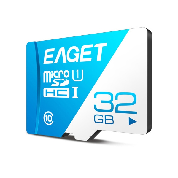 EAGET T1 Class 10 High Speed Micro SDHC UHS-I Flash TF Speicher Karte
