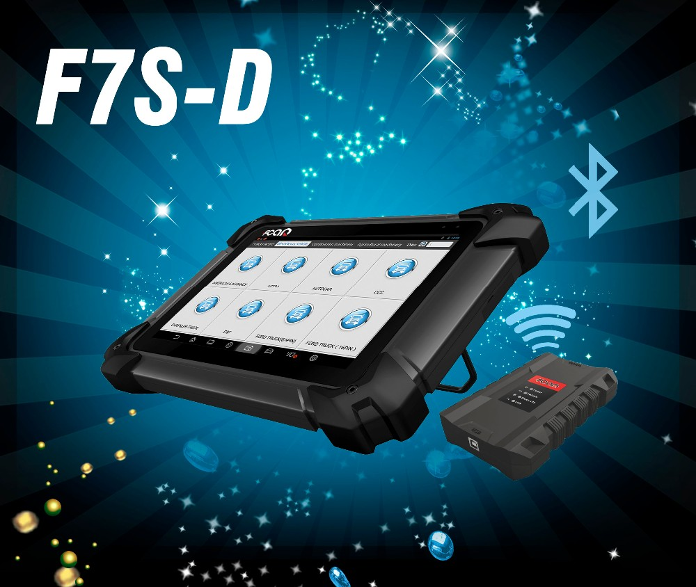 Heavy Duty Truck Use Automotive Diagnostic Scanner FCAR F7S-D