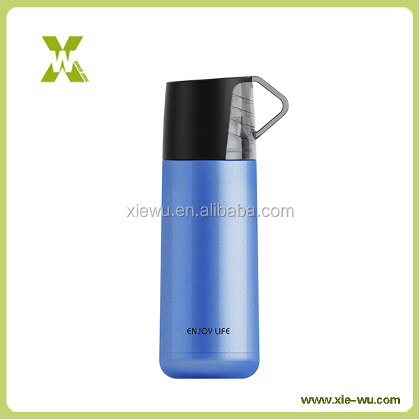 Food grade stainless steel tumbler water sport bottle vacuum flask