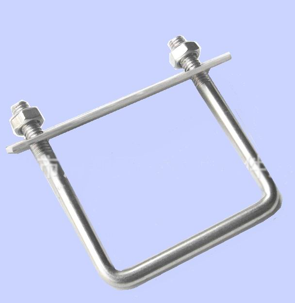 Stainless steel u bolt special type square
