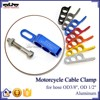 BJ-CC-001 Universal Blue CNC Aluminum Motorcycle Cable Holder for racing motorbike