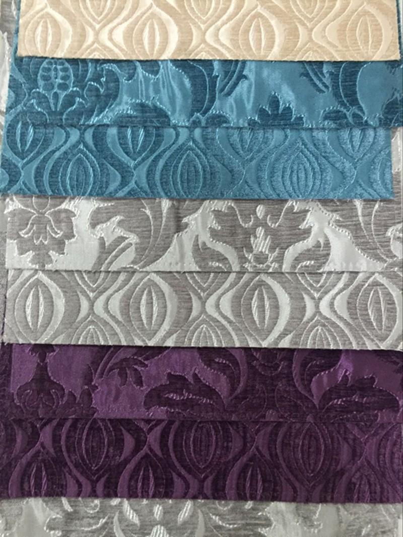 Jyh American Style Jacquard Chenille Fabric Latest Design
