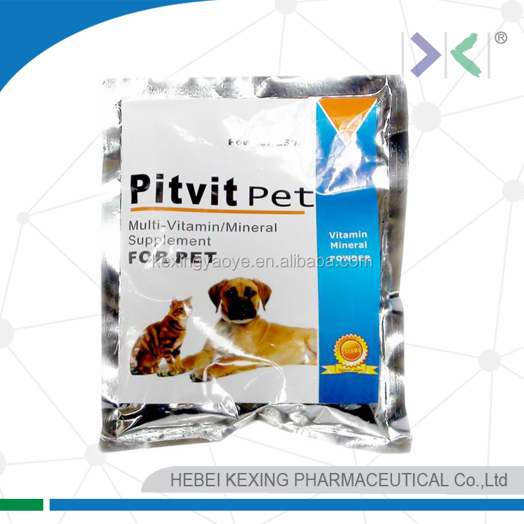 multivitamine and minerals powder for pet
