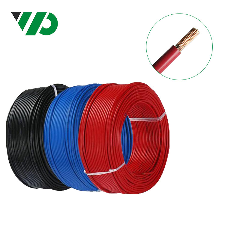 Domestic Industrial Solid Copper PVC Insulated Cable 1 SQ/MM Single Core Flexible 1mm Solid Wire Single Core Cables