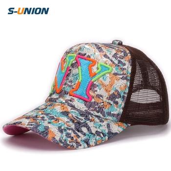 a3faa2a7d07 Mesh cap for children baseball caps NY baby sun hats girl and boy  adjustable kids summer