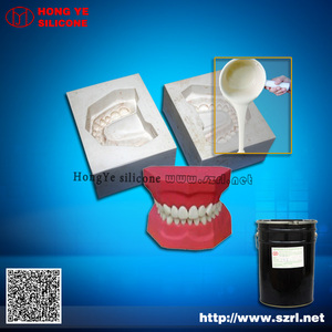 2 part RTV liquid silicone rubber to make molds for polyresin/ epoxy resin