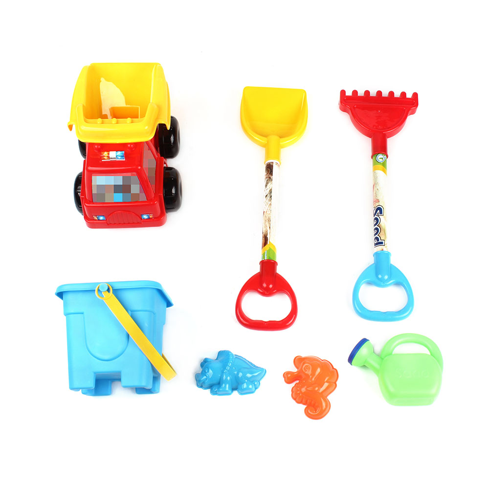 Pools & Water Fun Beach/sand Toys Honest Lugguge Car With 14pcs Spade Shovel Mold Watering Can Beach Toy Outdoor Sand Playing Tools Water Play Toys For Children