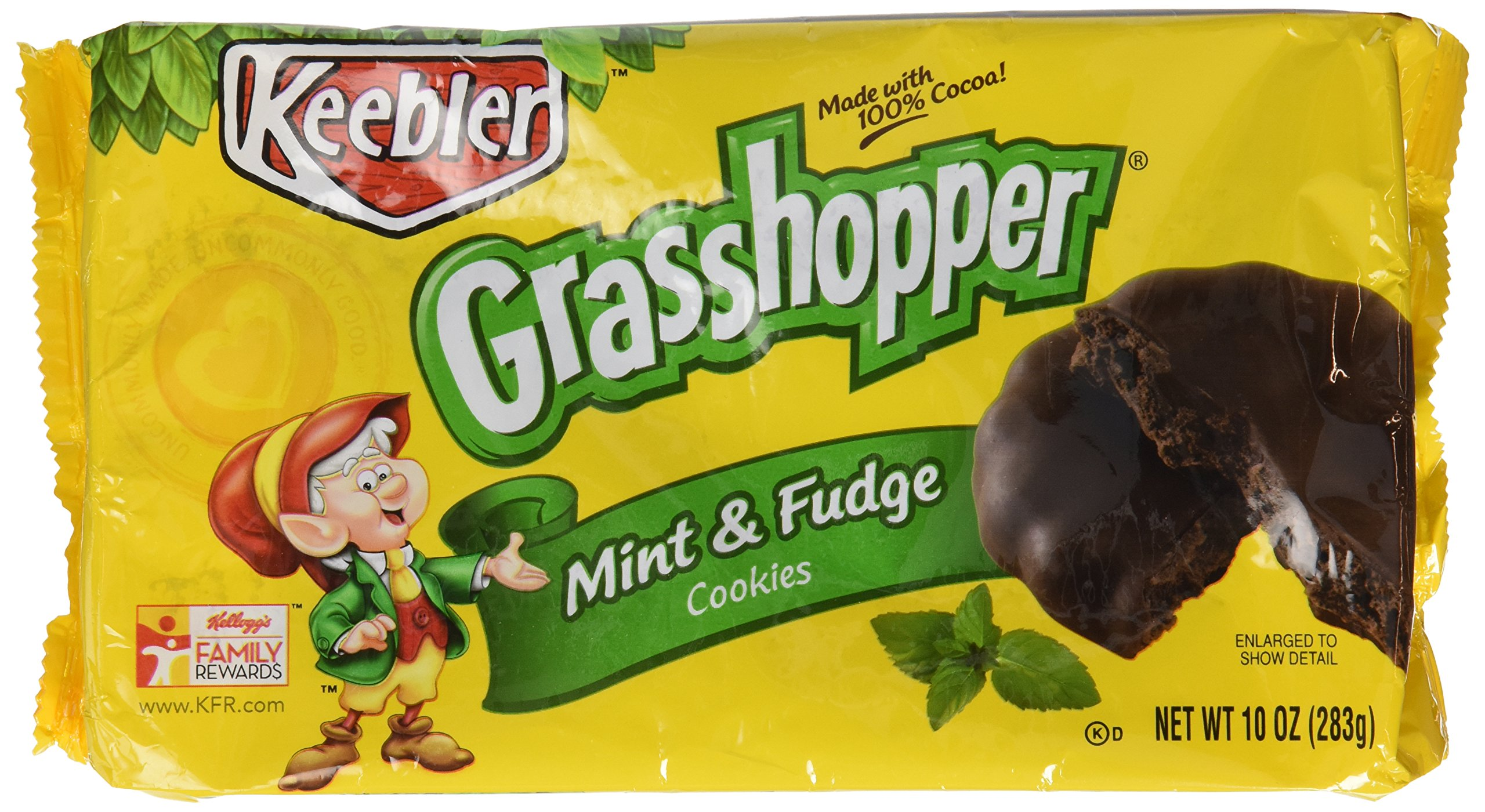 Buy Keebler Fudge Shoppe Grasshopper Mint Cookies 10 oz in Cheap ...