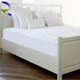 Super grade stitching home and hotel queen king size massage feather pad mattress topper