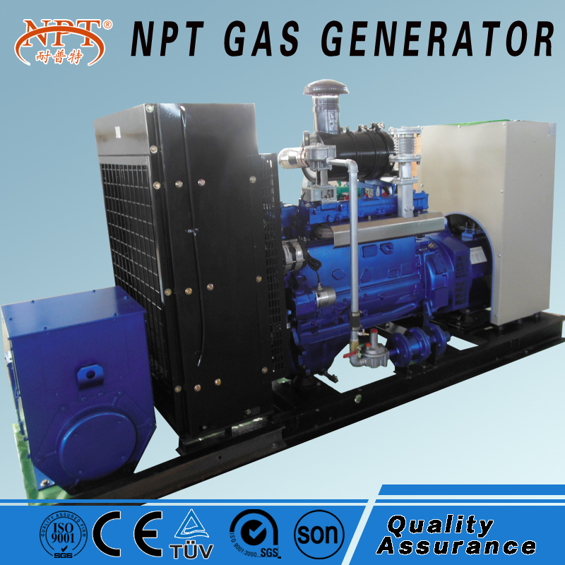 Customized CE approved silent 50kw lpg generator