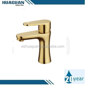 2016 Golden LUXURY Basin Faucets New Brass Wash Basin Faucet